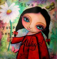 How adorable is this?   Artistic Accents by Darla.