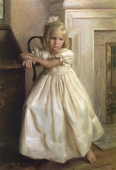 Oil Portrait Painting by Jim Aplin