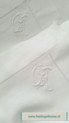 Old monogrammed linens