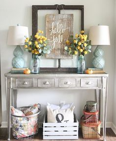 Home Decor And Design interior home decor 22 wondrous ideas home interior design pictures new photos design In Love With This Vignette Perfect For Fall And Still Light And Airy