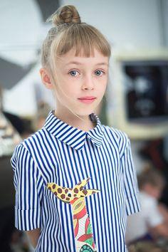 Pitti bimbo 83 apartment couture backstage Greta in Stella Jean - @epitti…