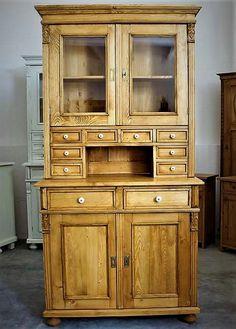 geschirrschrank landhausstil (3) Vintage Buffet, China Cabinet, Storage, Furniture, Home Decor, Small China Cabinet, House Styles, Cottage Chic, Ideas