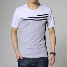 2017 summer style T-shirt men casual print short sleeve cotton t shirt Top plus size 3Xl 4Xl 5Xl