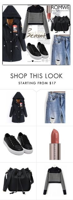 """""""Sporty style ,Romwe,6/II"""" by sajra-de ❤ liked on Polyvore featuring Urban Decay"""