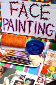 Circus Party - Face Painting Booth