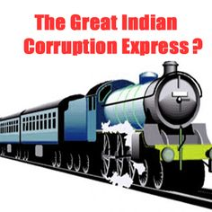 Indian Railways or the Corruption Express?  Over 6,400 employees under scanner for #corruption.  https://www.ipaidabribe.com/news-central-rss/railways-most-corrupt-over-6400-employees-came-under-scanner-last-year