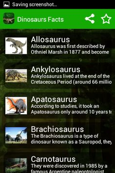 Dinosaur Picture & Facts for Kids - Enjoy learning about dinasaurs. Read interesting facts and information about how big dinosaurs were, when they livedCheck out our dinosaur pictures for kids and learn about your favorite dinosaurs including the Tyrannosaurus rex, Velociraptor, Stegosaurus, Triceratops and Diplodocus.Enjoy our fun dinosaur facts for kids and learn about everything from the ferociousLearn all you wanted to know about Tyrannosaurus rex and other dinosaurs with pictur...