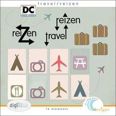 travel/reizen elementen