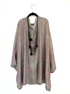 Silk Kimono jacket oversized / cocoon cover up by Bibiluxe on Etsy, £75.00