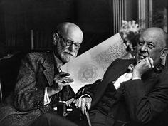 Sigmund Freud and Aleister Crowley