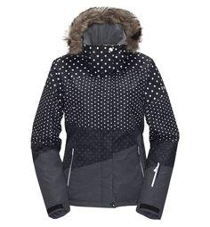 Roxy Jet Ski Snowboard Jacket Black 2013