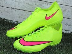 Nike Mercurial Victory V TF Turf Soccer Shoes Volt Hyper Punch  Nike ee8b0b7a5