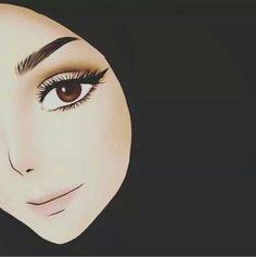 kartun beautiful muslim art - my ely Girl Cartoon, Cartoon Art, Cover Wattpad, Sarra Art, Hijab Drawing, Islamic Cartoon, Lovely Girl Image, Anime Muslim, Hijab Cartoon