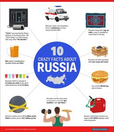 Crazy #Russia Facts