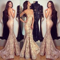mermaid prom dress,long Prom Dress,lace prom dress,sweetheart prom dress,evening dress,BD1366