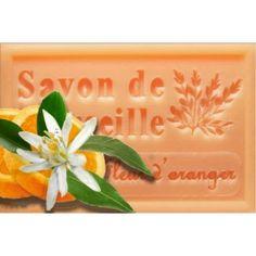 Orange blossom French Marseille soap
