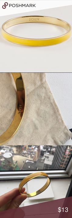 J.Crew classic bangle bracelet. Price as listed Minor signs of wean on the inside. J. Crew Jewelry Bracelets