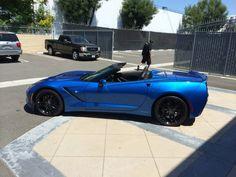 Stunning Blue Callaway Corvette SC627