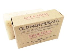 Gin  Tonic Juniper Pine Spruce AllNatural Soap 2 Bars * To view further for this item, visit the image link.