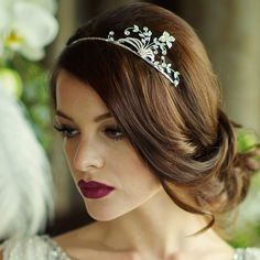 Fit for a Princess ... the Tiara http://calmweddings.blogspot.co.uk/2015/01/fit-for-princess-tiara.html
