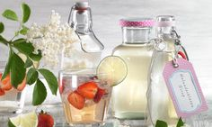 Holunderblüten-Sirup Rezept: Ein fruchtiger Sirup mit Holunderblüten-Dolden - Eins von 7.000 leckeren, gelingsicheren Rezepten von Dr. Oetker!