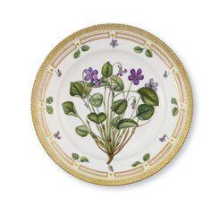 Plate - Royal Copenhagen Denmark -    Flora Danica