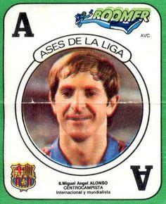 PERICO ALONSO (F.C. BARCELONA - 1983-84)