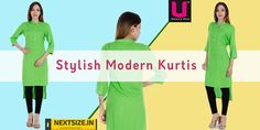 Stylish #kurtis for your daily wear! Find more here:http://nextsize.in/