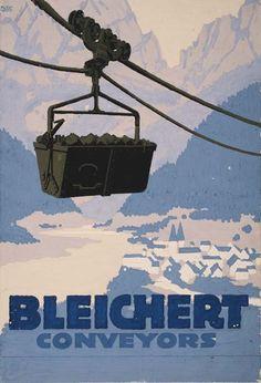 2079010: Poster. LUCIAN BERNHARD (1883-1950). BLEICHERT : Lot 2079010