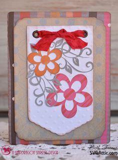 SVG Attic Blog: Floral Trio of Cards with Beth #svg #svgattic