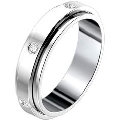 Pre-owned Possession Wedding Ring ($1,695) ❤ liked on Polyvore featuring jewelry, rings, white gold rings, wedding band rings, piaget rings, white gold band ring and wedding band jewelry