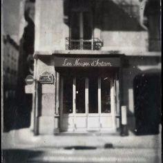 Neige d'Antant #paname #paris #oldtimes
