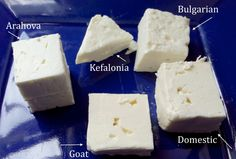 SAY CHEESE! - Everything You Need To Know About Feta: From standard supermarket grade to coveted Arahova - These varieties of feta may look similar, but there's a world of difference.