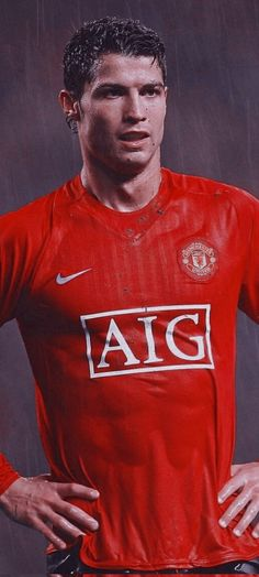 Foto Cristiano Ronaldo, Best Player, Manchester United, The Unit, Mens Tops, T Shirt, Fashion, Soccer, Football Background