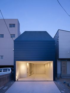 House of Ujina, Hiroshima, Japan  A project by: MAKER Architecture