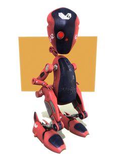 Robot by Mark Dooney