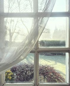 Swedish dot curtain