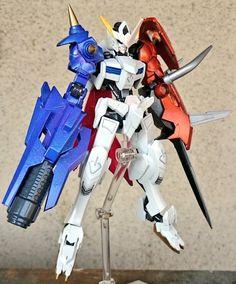 GUNDAM GUY: HG 1/144 Gundam Barbatos Omegamon - Custom Build