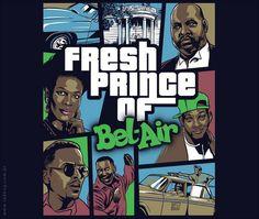 Fresh Prince of Bel-air Arte Do Hip Hop, Hip Hop Art, Dope Cartoons, Dope Cartoon Art, Black Love Art, Black Girl Art, Prinz Von Bel Air, Black Cartoon Characters, Black Art Pictures