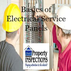 Basics of electrical service panels  http://schultzpropertyinspections.com/2016/08/electrical-service-panels/