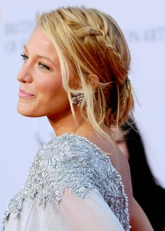 Homecoming Hairstyles for Long Hair - Blake Lively's Braided Updo