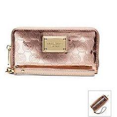 michael kors rose gold wallet - Google Search