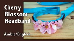 Cherry Blossom Headband DIY