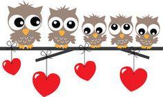 Lovely owl family sitting on a branch Royalty Free Stock Image Owl Family, Portfolio, Banner, Stock Photos, Digital, Illustration, Royalty, Animals, Free