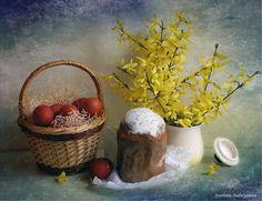 Easter. Пасха. Кулич. Весна. Spring
