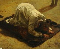 Horace Vernet An Arab at Prayer