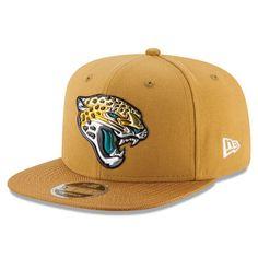 New Era Jacksonville Jaguars Gold Kickoff Baycik 9FIFTY Snapback Adjustable Hat