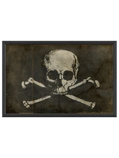 Pirate Flag by The Artwork Factory at Gilt