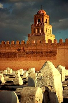 The Great Mosque and Cemetery Kairouan Tunisia