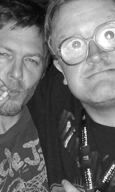 .norman & bubbles, yes!! Now that would be a show...The Walking Dead meets the Trailer Park Boys! LOL